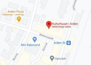 https://www.google.dk/maps/place/Kulturhuset+i+Arden/@56.769851,9.859133,17.75z/data=!4m5!3m4!1s0x46494cce45c29a8d:0xefbfb1a0c68f67ab!8m2!3d56.7699618!4d9.859344?hl=da